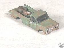 N Scale 1973 Abandon Rusted out Green Chevy Pickup, #4