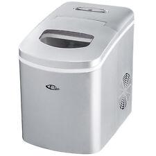 Máquina Productor de hielo Ice maker cubitos de hielo nuevo plateada