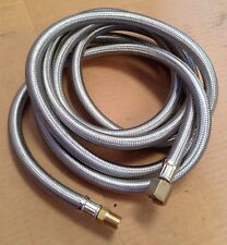 10- Ft Stainless Braided Hose Cookers Rv, Campstove, Lanterns, Grills