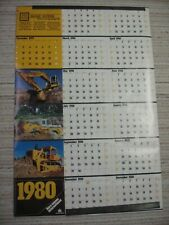 1980 International Harvester Heavy Earth Moving Equipment Calendar