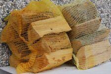 N. 8 sacchi Legna da ardere, sacco kg 15 cm 33 puro faggio secco stufe caminetti