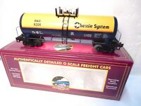 MTH Premier #20-92007 Chessie System Tank Car- O scale - New with Original Box!-