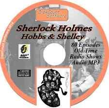 Sherlock Holmes - Hobbs & Shelley - 80 Old Time Radio OTR MP3 audio CD