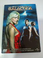 Battlestar Galactica Primera Temporada 1 Completa - 4 x DVD Español Ingles