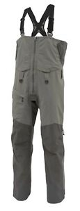 SIMMS Contender Insulated Bib Gunmetal XXL, Fishing Over Trousers Gore-Tex