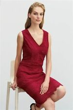 Lace V Neck Wiggle, Pencil Petite Dresses for Women