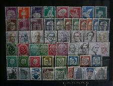 Lot 03 Timbres divers d'Allemagne oblitérés petits formats