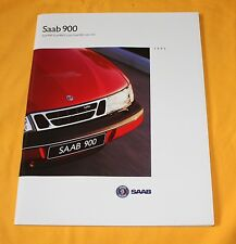 Saab 900 1995 (CH) Prospekt Brochure Catalogue Prospetto Catalog Cabriolet