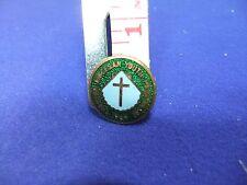 vtg badge youth pilgrimage chester diocesan 1969 religion church sacred journey