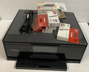 Canon Pixma TS9120 All-in-One Touchscreen Printer W/7 Inks Tested and Working!