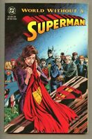 GN/TPB Superman - World Without Superman Collected nm- 9.2 / 1993