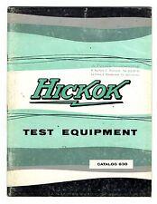 HICKOK - CATALOGO 63D  1910 - 1963