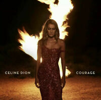 DELUXE EDITION Celine Dion CD Courage 4 Bonus Tracks + Posters NEW USA SELLER