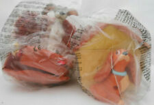 """New McDonalds happy meal toys - """"Lady"""" and """"The Tramp"""" from the Disney film"""