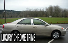 Toyota Camry Stainless Steel Chrome Pillar Posts by Luxury Trims 2002-2006 (6pc)