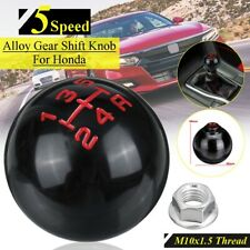5 Speed Manual Gear Shift Knob Head Round Ball Shape M10x1.5 Thread For