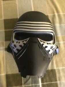 **Star Wars Kyle Ren** Black/silver Mesh Through Mask