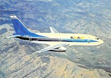 EL AL ISRAEL AIRLINES Boeing 737-258 4X-ABN c/n 22856 Airplane Postcard