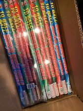 Roman Candle 10 Ball  Labels . Packaging 8/6 cut off collectable Firework label