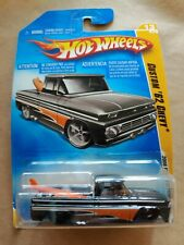 Custom '62 Chevy - Hot Wheels - 2008 First Editions - Truck w/ Surfboards - NEW