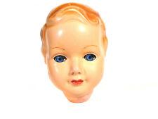 "Vintage tortulon doll head, doll size 44 cm, 17.3"", marked 44"