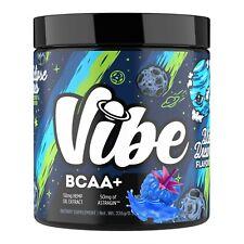 BCAA Powder 5 Grams of Premium 30 Servings Vegan Vibe Nutrition Blue Raz BCAA