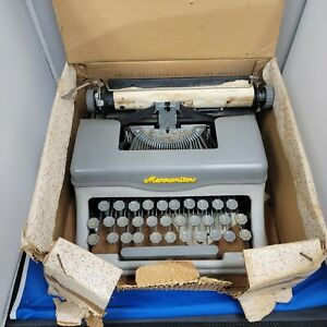 1970's Vintage Marx Toys Marxwriter Typewriter with Original Box Louis