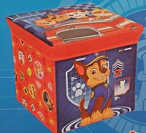 PAW Patrol  faltbarer Sitzhocker Spielzeugkiste Aufbewahrungs-Box , NEU