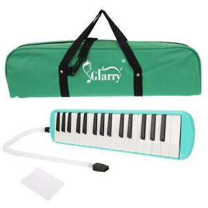 Glarry 32 Piano Keys Melodica Instrument for Music Lovers Green