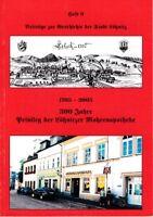 1705 - 2005 300 Jahre Privileg der Lößnitz Mohrenapotheke Heft 9 Beiträge