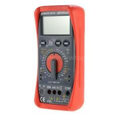 Digital Tachometer Tach Dwell Tester Multimeter Automotive Speed Duty Tool W7K8