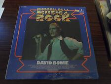 David Bowie Historia De La Musica Rock Sealed LP