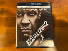 The Equalizer 2 - 4K Ultra HD & Blu-Ray NO DIGITAL CODE!!! Read the Description