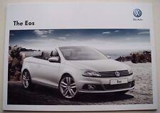 Volkswagen . Eos . The Volkswagen Eos . August 2012 Sales Brochure