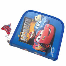 24 CD DVD Organizer Storage Case CARS McQueen Sally Blue NIP O