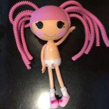lalaloopsy doll, pink hair, hard plastic body