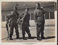 13 Rue Madeleine (1946) 8x10 black & white movie photo #102 flight suit