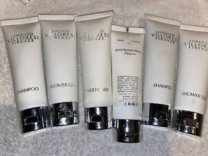 6 TUBES OF LORENZO VILLORESI FIRENZE TRAVEL LOTIONS 50 ML High Cost