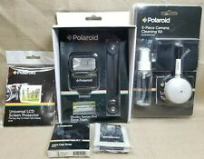 Polaroid Screen Protector Studio Series Pro Slave Flash 5 PC Cleaning Kit Strap