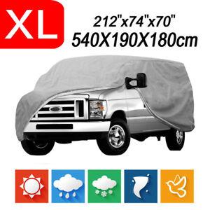Full Auto Cover for SUV Van Truck WaterProof Outdoor Dust UV Rain Snow Protector
