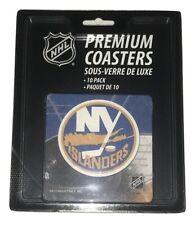 NHL New York NY Islanders Hockey Team Drink Coasters Set of 10 NEW