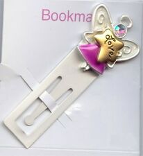 "1 ""LOVE ANGEL"" NOVELTY RHINESTONE BOOKMARK M16"