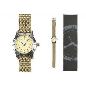 Army Uhr Quartz US Airman 1940 Armbanduhr Damen Herren Militär Watch Vintage NEU