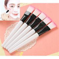 2Pcs Fibre  Brushes Facial Face  Mud Mixing Brush Skin Care Tool Brush