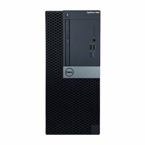 Dell OptiPlex 7060 Intel i7-8700 Intel UHD Graphics 630 Win 10 Pro Tower Desktop