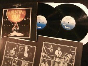 Jethro Tull - Live Bursting Out - 1978 Vinyl 12'' Lp.x 2/ VG+/ Prog Rock AOR