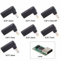 USB 3.1 Type C to DC 18-20V Adapter PD Emulator Trigger 90 Degree Angled GW