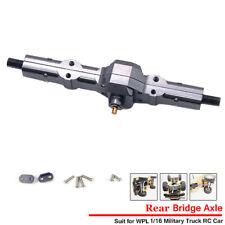 Metal Rear Axle Bridge Upgrade Part  for WPL 1/16 B14 B24 B16 B36 C14 C24 Truck