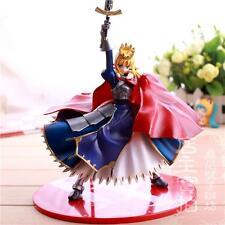 Fate Stay Night Fate/Extra Fate/Grand Order Saber PVC Figure Anime Toy 18cm AU