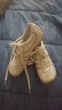 Diesel Sneakers Women's Shoes Evelyn Leather Trainers Off White 5.5 M